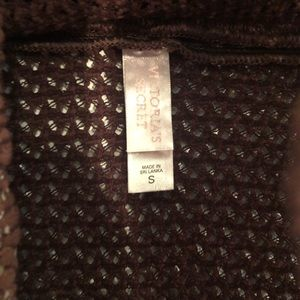 Victoria's Secret Swim - [Victoria's Secret] Brown Crochet Knit Swim Skirt